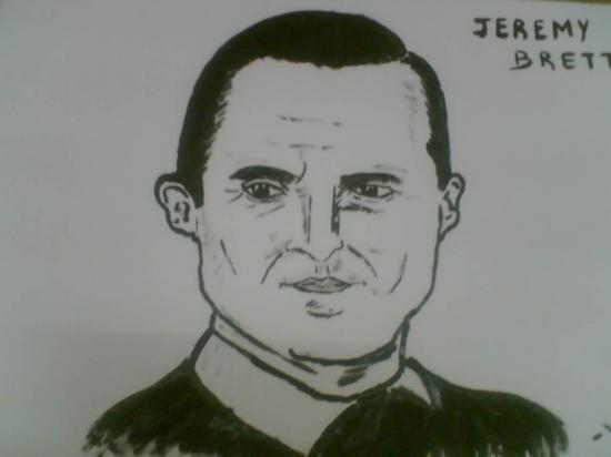 Jeremy Brett by arun